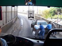 Verkehrsprobleme in Kairo