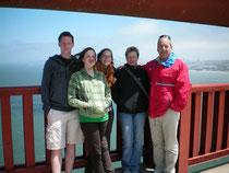 2008 auf der golden gate Brücke