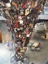 Seattle, Dachstütze im Museum Jimi Hendrix