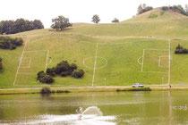 Das Übungsfeld der Schweizer Nationalmannschaft