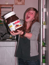 I love NUTELLA and NUTELLA loves me