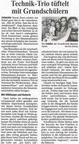 Bericht in der Bergischen Morgenpost, 18. März 2010