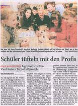 Bericht im Remscheider General-Anzeiger 2007