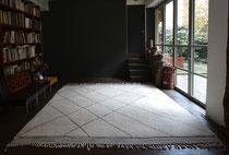 12. Teppich, Marokko, Beni Ouarain look, 340 x 420 cm, SOLD, Maßanfertigung möglich
