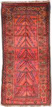 """5. Taimani Belutsch, """"Lebensbaum Motiv"""" , Südwestafghanistan,  um 1920,  220 x 102 cm SOLD"""