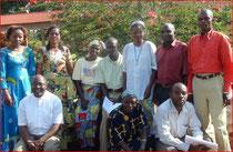 Équipe du Congo au grand séminaire de Muresha.