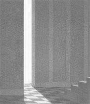 graphite sur papier 15 x 17,2 cm