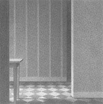 graphite sur papier 16 x 16 cm