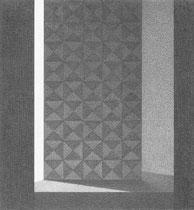 graphite sur papier 14 x 15 cm