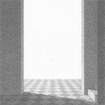 graphite sur papier 15 x 15 cm