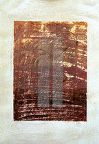 ohne Titel, 2000, Mischtechnik auf Papier, 56 x 37 cm [20000288]