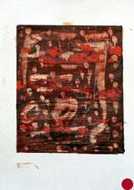 ohne Titel, 2000, Mischtechnik auf Papier [20000293] - VERKAUFT