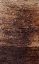 Horizonte remoto, 2002, técnica mixta sobre lienzo, 146x89 cm - VENDIDO