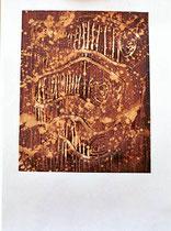 ohne Titel, 2000, Mischtechnik auf Papier, 56 x 37 cm [20000292]