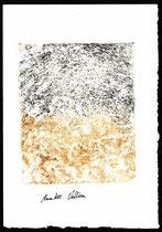 ohne Titel, Monotypie, 2002