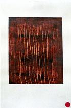 ohne Titel, 2000, Mischtechnik auf Papier [20000297] - VERKAUFT