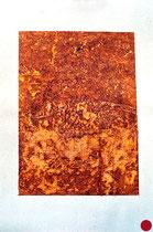 sin título, técnica mixta sobe papel, 2001 [20010272] - VENDIDO