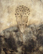 Autoretrato, 2007, Mischtechnik auf Leinwand, 82x65 cm