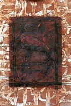 ohne Titel, 2000, Mischtechnik auf Papier, 56 x 37 cm [20000299]