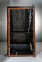 Lebensmomente I, 1993, 119x60x25 cm, steel