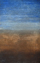Tierra y Mar, 2008, Mischtechnik auf Holz, 70x45 cm (verkauft)