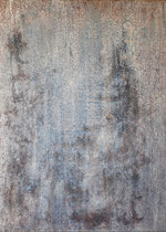 sin título, 2001, técnica mixta sobre lienzo, 70x50 cm (2009-11_DSC_6239)
