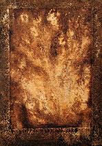 ohne Titel, 2001, Mischtechnik auf Leinwand, 60x40 cm