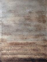 ohne Titel, 2008, Mischtechnik auf Leinwand, 117x90 cm
