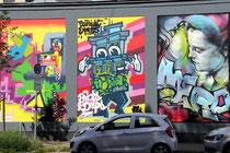 40Grad Urban Art Festival 2015 - diverse