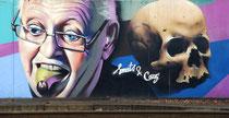 Mural von Smates und Caz in der Station Berchem