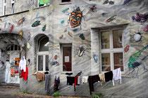 Kiefernstraße - Haus Nr. 11 - Gewimmel - Till Martin Köster + Christian Bolte