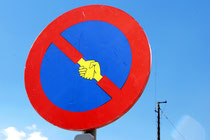 Sticker von Clet Abraham