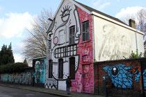 Mural von Oxie Alienski in der Minckelersstraat