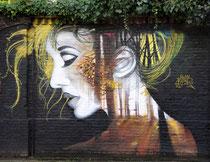 Mural in der Minckelersstraat