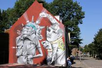 Claudio Ethos - das fertige Mural