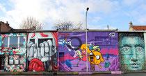 Murals in der Vlijtstraat