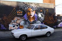 Mural von Saicker OWTS in der Krugerstraat