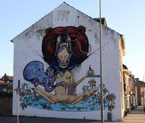 Mural von Dave de Leeuw und Vincent Lancee