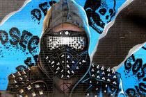 """Mural von den """"Aerosol Kings"""" in der Uitbreidingstraat"""
