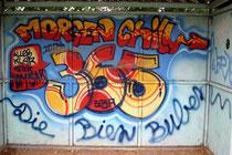 """""""365"""" - der ist so stark in der Stadt vertreten, dass der Eindruck entsteht, er möchte für jeden Tag des Jahres ein Werk hinterlassen"""