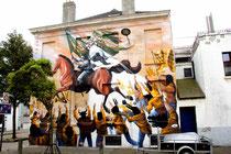 Mural von dem Argentinier Jaz.