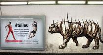 Mural in der Metrostation Spagna