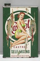 MISS CASTROL  Collage papier & technique mixte sur support bois 105 cm x 73 cm  2020