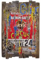 CIRCUS III  126 cm x 80 cm  2017