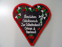 Lebkuchenherz 45 x 50 cm Geburtstag