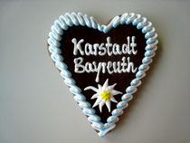 Oktoberfest Lebkuchenherz 15 x 17 cm