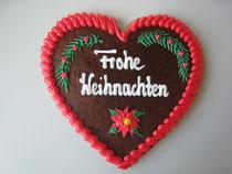 Lebkuchenherz 23 x 22 cm - Weihnachten