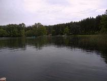 Dreetzsee, Einstieg Luzindiver/Campingplatz