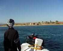 Hotel Oasis vom Meer aus