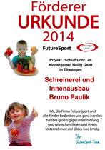 Schulfruchtprogramm 2014 der Heilig-Geist